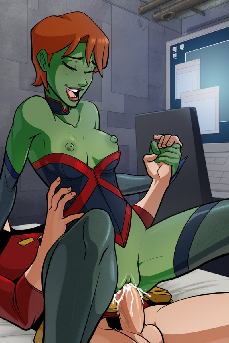 young justice all girls naked