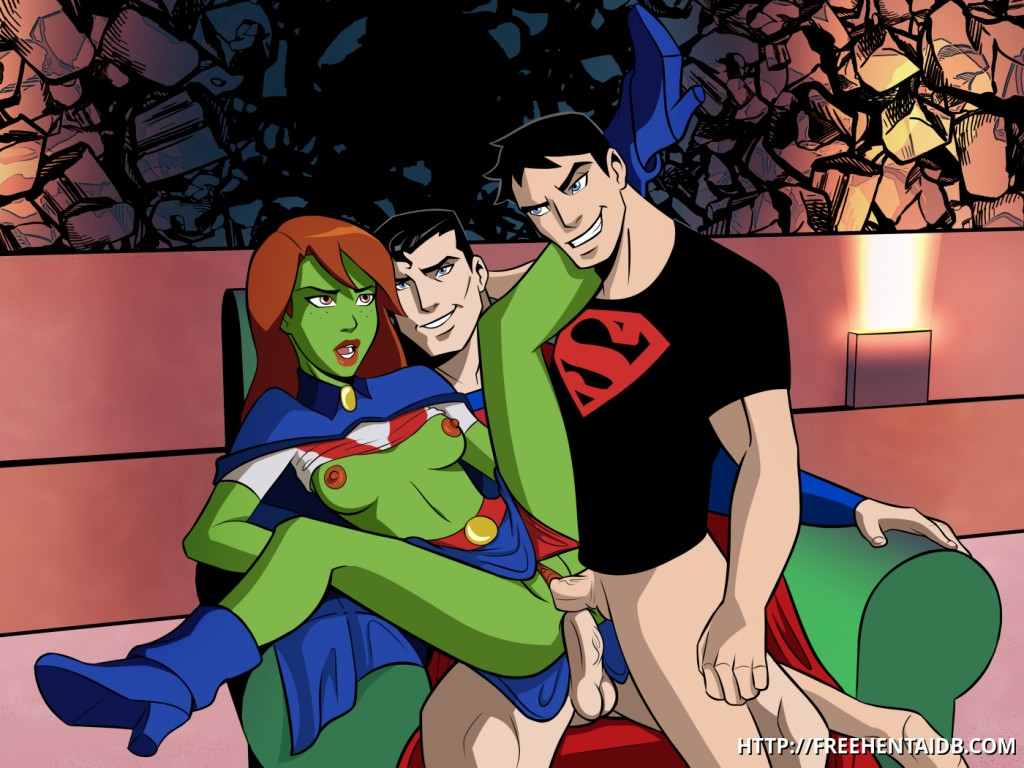 Young Justice Sex Stories